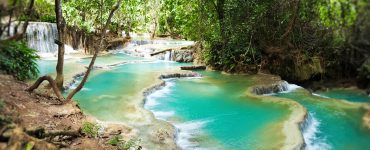 Luang Prabangas ir Kuang Si krioklių slapti baseinai