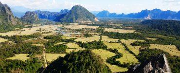 Vang Viengas Laose: ne tik vakarėlių mėgėjams
