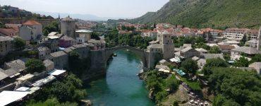 Bosnija ir Hercegovina. Osmanų architektūra ir karo palikimas Mostare