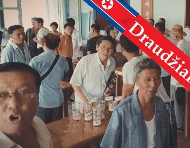 Filmas. Kelionė į pavojingąją Šiaurės Korėją. Uždraustos vietos turistams.