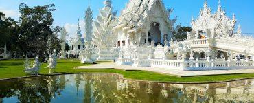 Wat Rong Khun (Baltoji šventykla) Tailande