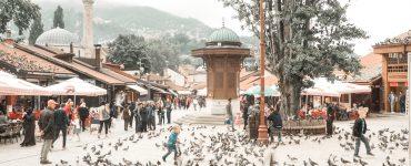 Paisvaikščiojimai Sarajeve