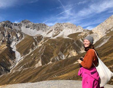 Šveicarijos nacionalinis parkas: žygis į Margunet viršūnę
