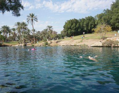 Beit Šeanas Izraelyje: šiltosios versmės ir senovinio miesto likučiai