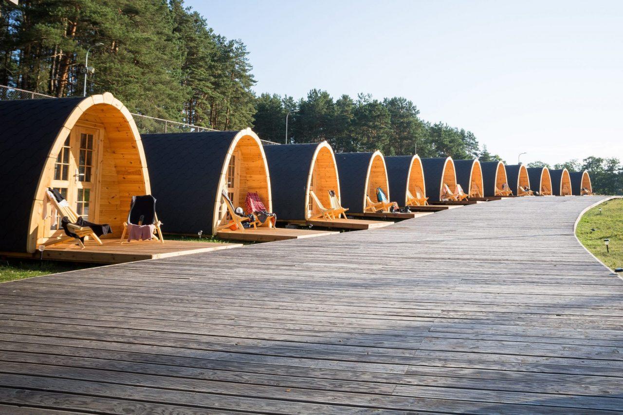"Įdomi nakvynės vieta Lietuvoje - ""Camping Pod"" Zarasuose"