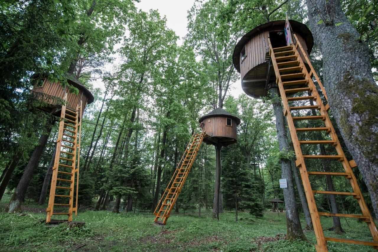 """Išskirtinė nakvynės vieta Lietuvoje - """"Taurų parkas"""" Tauragės raj."""