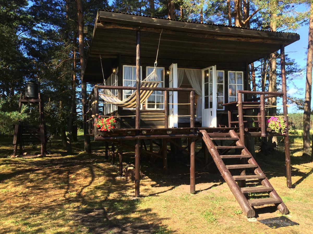 """Išskirtinės nakvynės vietos Lietuvoje - """"Varėna treehouse"""" Varėnos raj."""